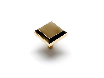 Beveled Edge Square Knob