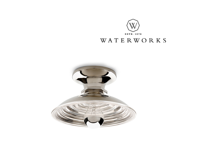 Waterworks Henry Wall/Ceiling Flush Mount