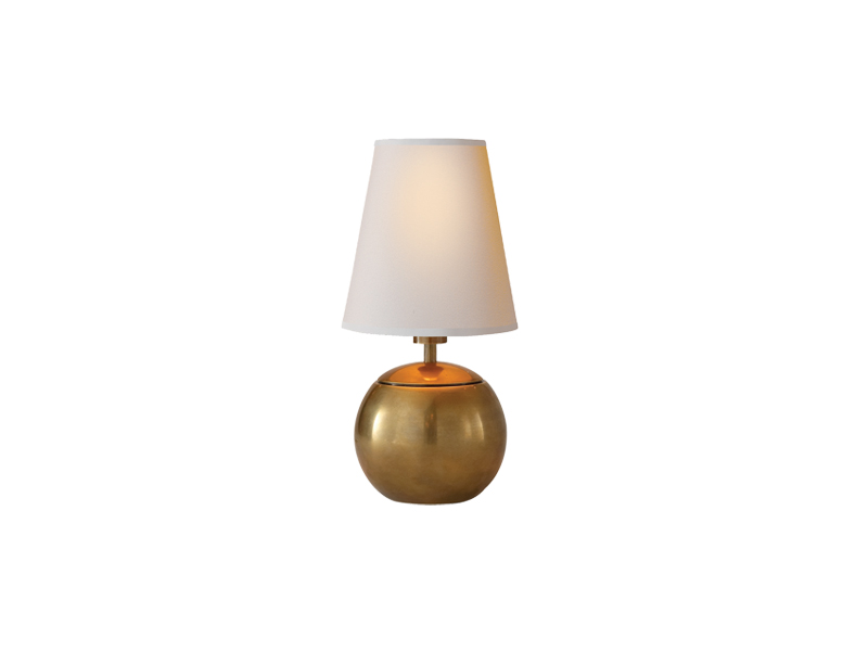 Tiny terri round table lamp alexander marchant aloadofball Choice Image