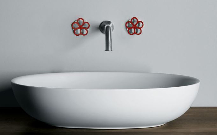 boffi pipe wall mounted faucet