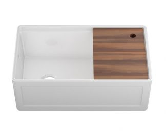 Julien Fireclay Sink, Farmhouse Sink