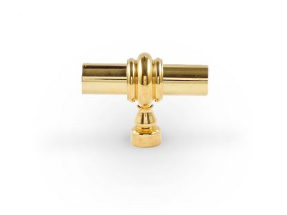 "Classic Toggle Knob - 1/2"" Diameter Brass Rod"