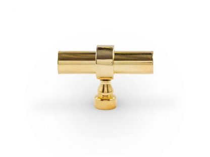 """Heritage Toggle Knob - 1/2"""" Diameter Brass Rod"""