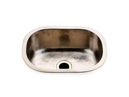 Waterworks Normandy Hammered Oval Bar Sink