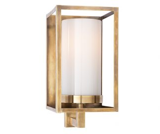 Easterly Sconce in Antique Burnished Brass