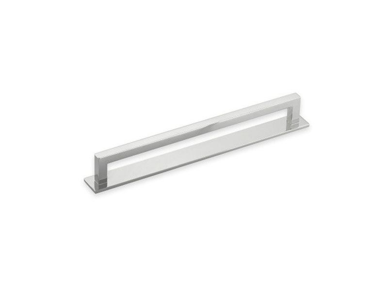 Bromwich Appliance Pull in polished nickel