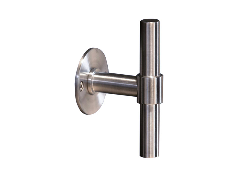 Piet Boon ONE T-Bar Lever Handle in Satin Stainless Steel
