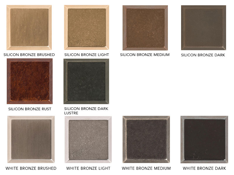 Rocky Mountain Hardware Finishes