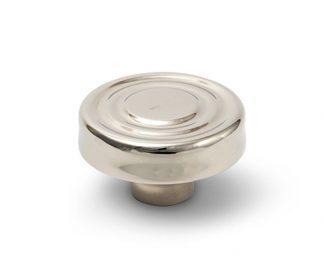 Peabody Knob polished nickel