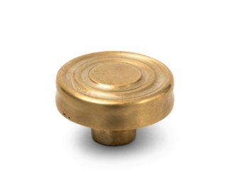 Peabody Knob Satin Brass