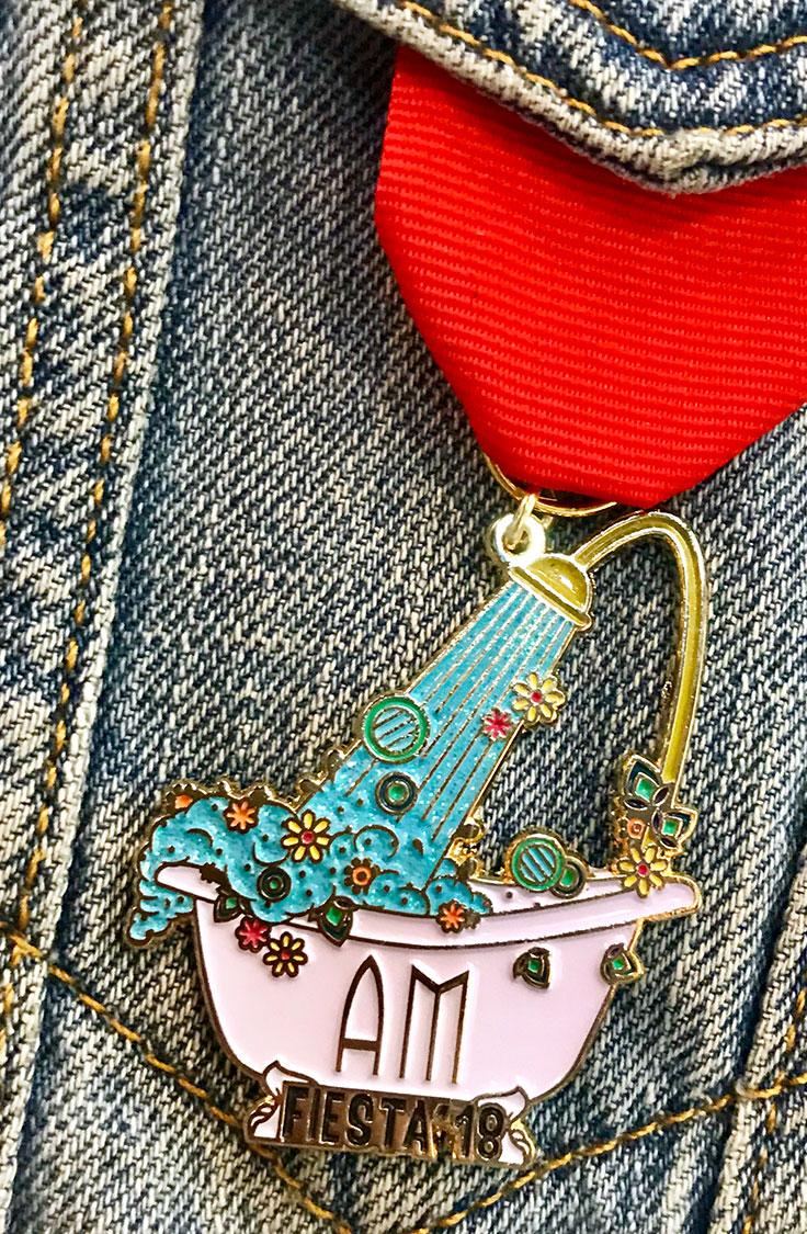 alexander marchant, fiesta 2018, fiesta medal 2018, san antonio