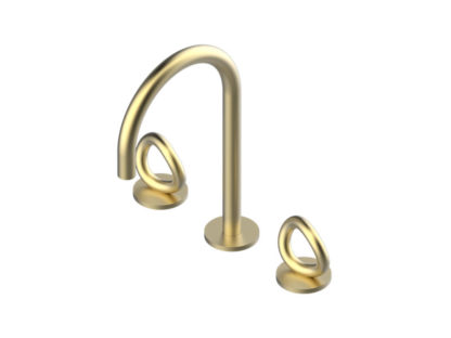 THG Paris Contemporary Collection O Widespread Faucet
