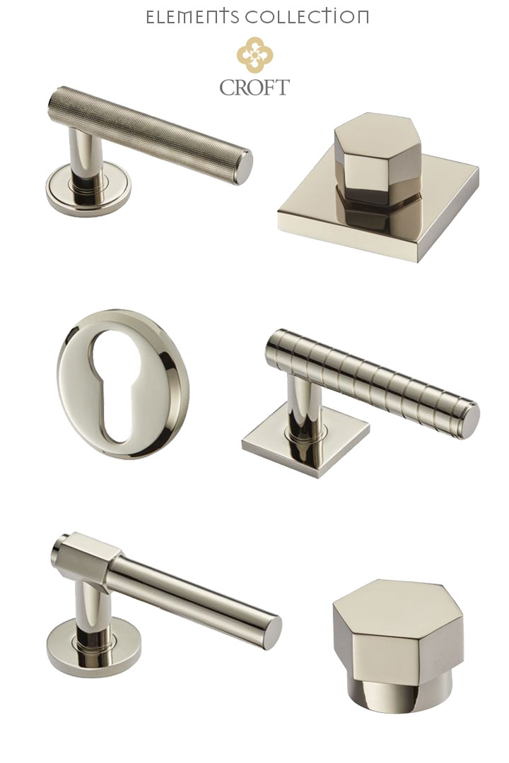 CROFT: A Long Lasting Tradition of Fine Architectural Hardware, Elements Collection