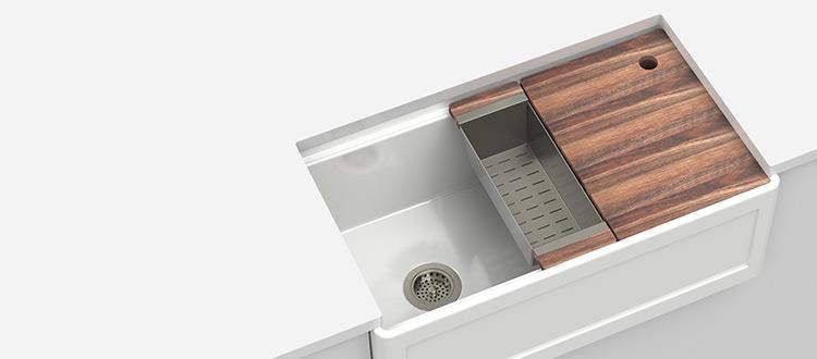 Julien Fira Fireclay Undermount Sink