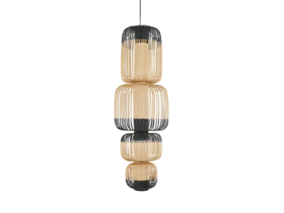 Global Lighting Bamboo 4 Light Pendant