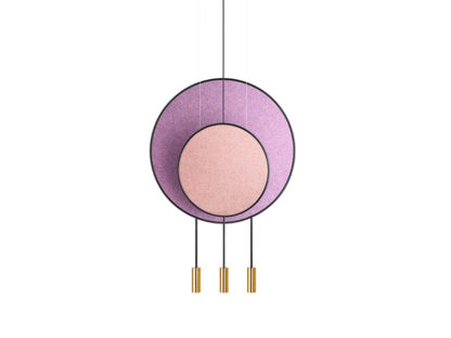 Estiluz Revolta Multi-Light Suspension - Acoustic Panel