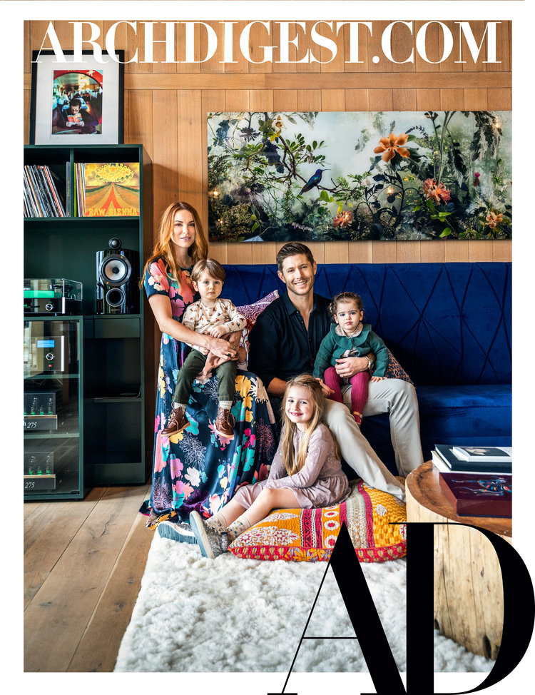 Architectural Digest November 2019, Ackles House, CW Stars Home