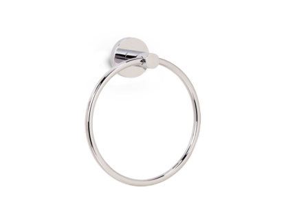 Alno Contemporary Towel Ring, Contemporary Towel Ring, Alno, Towel Ring, Bath Accessories, Polished Nickel