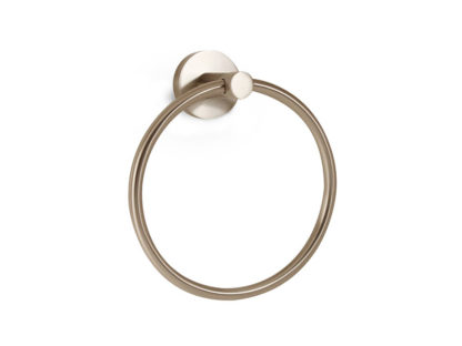 Alno Contemporary Towel Ring, Contemporary Towel Ring, Alno, Towel Ring, Bath Accessories, Satin Nickel