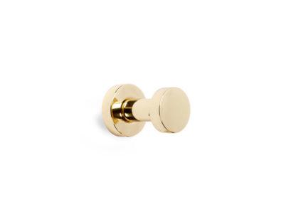 Petite Euro Robe Hook, Alno Bath Accessories, Brass Bath Accessories, Brass Towel Hook